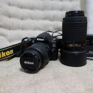 Nikon D40X Wズームセット