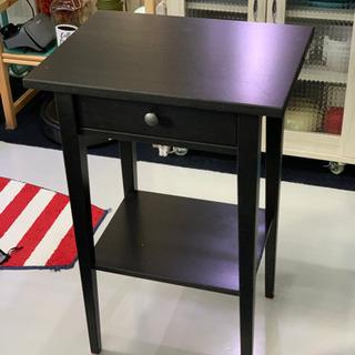 IKEA ヘムネス黒 棚 チェスト