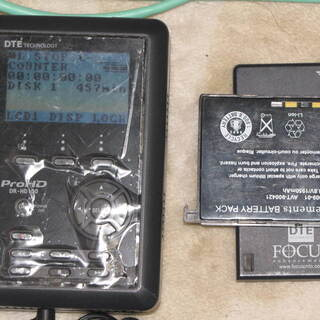 DR-HD100,HDD式ポータブルレコーダー(中古)