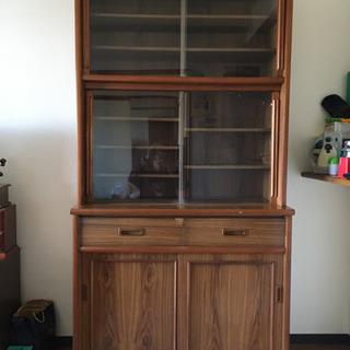 木製食器棚 無料