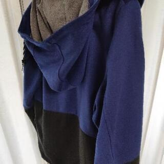RAGE BLUEのキレイめパーカー【 ほぼ未使用】 - 服/ファッション