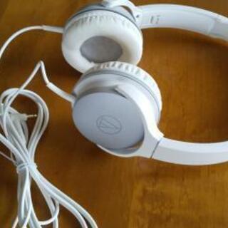 オーディオテクニカ ポータブルヘッドホン ATH-AR1 ホワイト