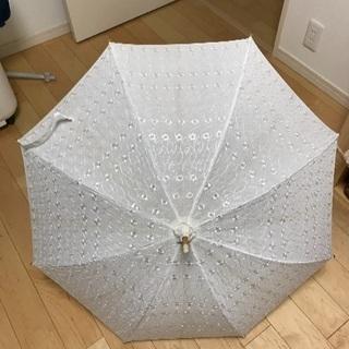 日傘差し上げます。