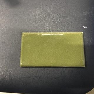 磁器タイル(オリーブ)