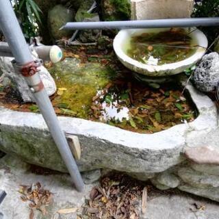 石の水板?