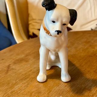 コロムビアの犬 ニッパー (Nipper) 置物