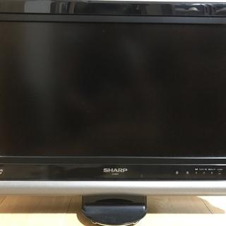 【ジャンク品】 液晶テレビ20型 SHARP AQUOS 2007年製