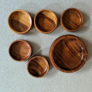木製サラダボウル