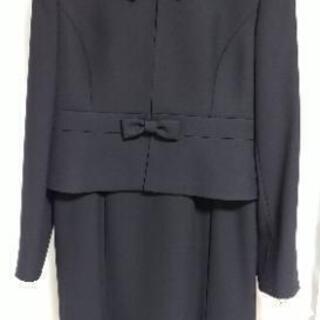 ブラックフォーマル スーツ ワンピース 喪服 ソリテール