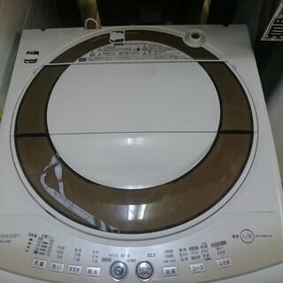 シャープ 全自動洗濯機7.0kg 2012年製 高く買取るゾウ中間店