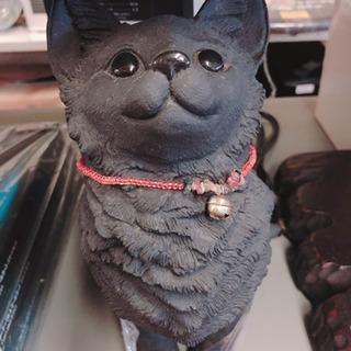 仙台市若林区〜猫の置物