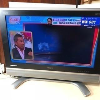 SHARP AQUOS32型液晶テレビ