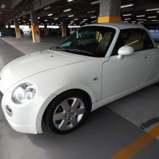 コペン 人気のホワイトパール 5MT 車検R3年4月まで