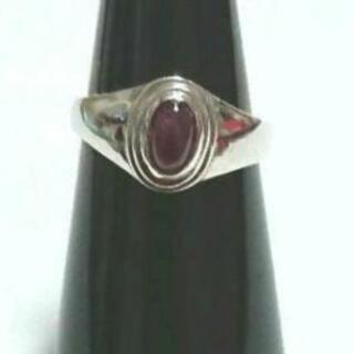 指輪 シルバーリング  メノウ  瑪瑙  12号