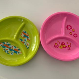 キッズ用 プラスチック皿 6枚 トイザらス