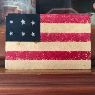 アメリカ国旗置物