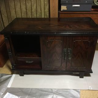 昭和レトロ 金庫内蔵家具(隠し戸付き)