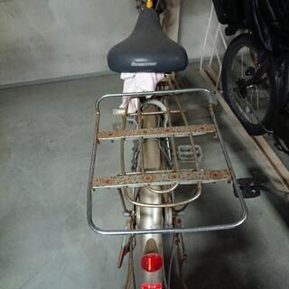 【無料】パンク自転車差し上げます