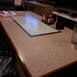 【業務用】鉄板焼き座卓テーブル(都市ガス)