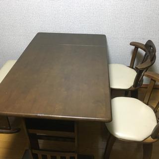 ダイニングテーブルセット 4人用