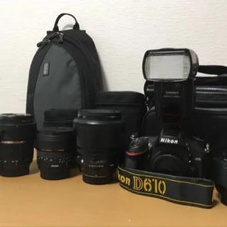 《超お得セット》Nikon D610 フルサイズ一眼カメラ/レン...