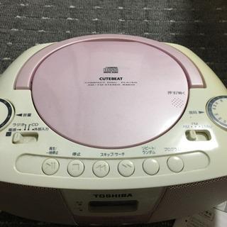 TOSHIBA  CDラジオ TY-CR10