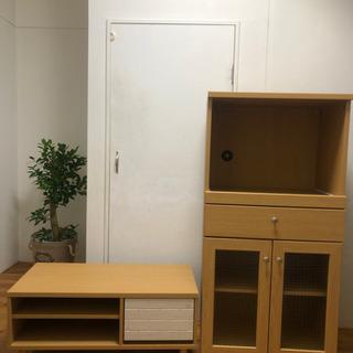 テレビボード&キッチンボードセット
