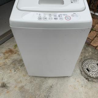 洗濯機4.5kg 【お取引中】