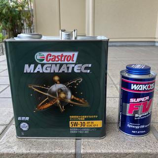 カストロール) エンジンオイル ワコーズ  添加剤セット