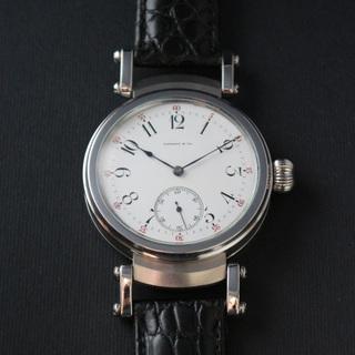 下取&値引き交渉あり 1870年代 ティファニー懐中時計のムーブ...