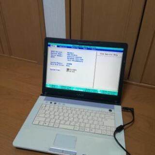 激安! ジャンク ノートパソコン pc BIOS起動