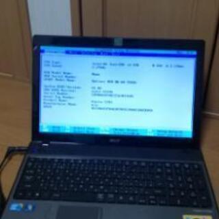 acer ノートパソコン Windows7 中古 ジャンク BI...