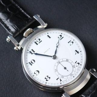 値下げ交渉あり 1910年代 ロレックス懐中時計ムーブメント使用...