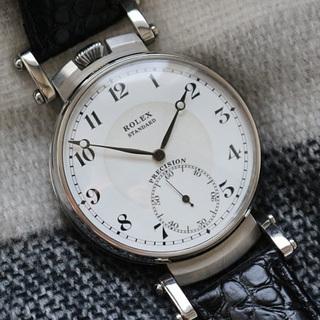 下取&値引き交渉あり 1920年代 ロレックス懐中時計のムーブメ...