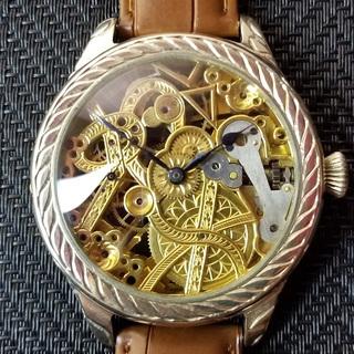 下取&値引き交渉あり 1910年代 ロレックス懐中時計のムーブメ...