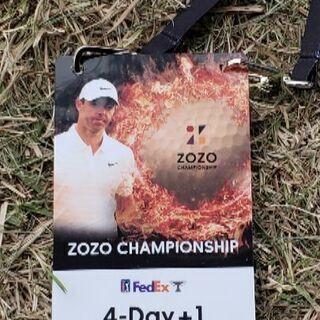 ZOZO(ゾゾ)チャンピオンシップ28日最終日チケット