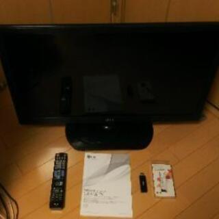 LG32インチ液晶テレビ32LS3500と専用wi-fiドングル...
