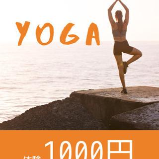 【体験1000円】垂水でヨガを始めよう!タルミヨガ