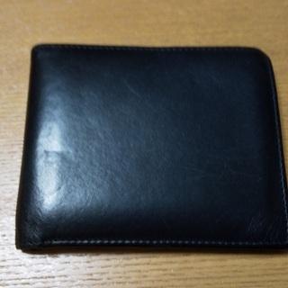 ご相談中:二つ折り財布(黒)USED