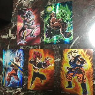 ドラゴンボール  カード5枚セット