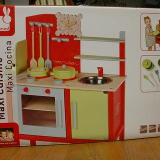木製ビストロキッチン トイザらス 台所 ままごと