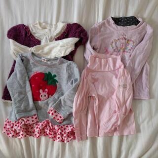 女の子の服、まとめ売り!100cm