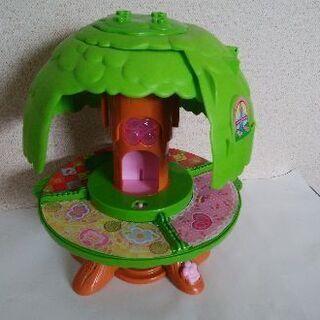 こえだちゃんと木のおうち◆女の子玩具