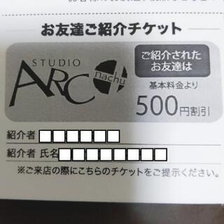 スタジオアーク 500円割引券