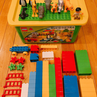 【大幅値下げ】 LEGO レゴデュプロ 楽しい どうぶつえ…