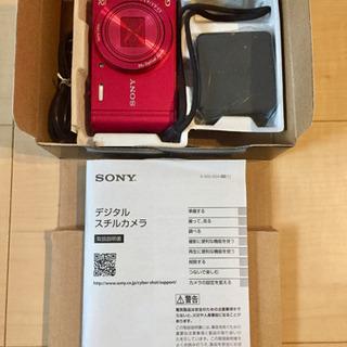 🔶SONY🔶 DSC-WX300 Cybershot レッド 1...