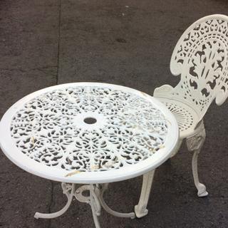 ガーデンテーブル イス