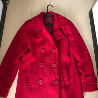 赤色Pコート11号 クリスマスにオススメ