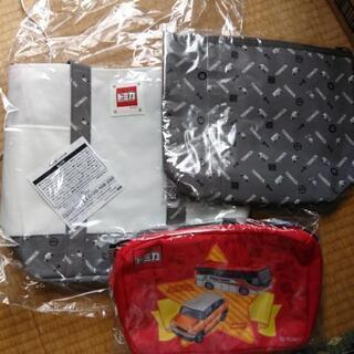 新品未使用品 トミカ トートバッグ 保冷ポーチ 通園バッグ