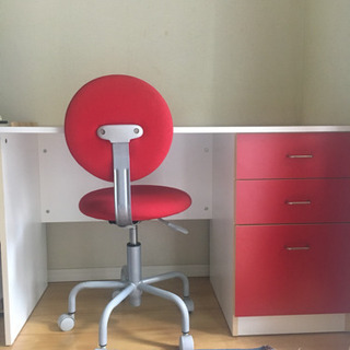 アクタス ACTUS  学習机、椅子セット 取りに来ていただける方に!
